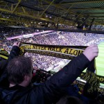 Fodboldtur fodboldfans tyskland