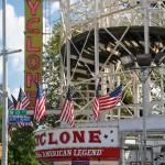 Cyclone Rollercoaster Coney Island