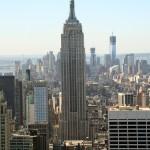 Empire State og Freedom Tower