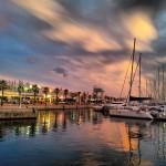 Lystbåd havnen i Alicante.