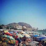 Playa del Postiguet Stranden i Alicante.