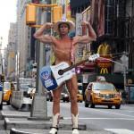 Naked Cowboy på Times Square
