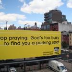 Sjov reklame i NYC