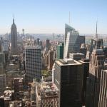 Lower Manhatten skyline New York