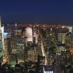 Manhatten skyline fra Empire