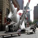 Plane crash Art Philadelphia